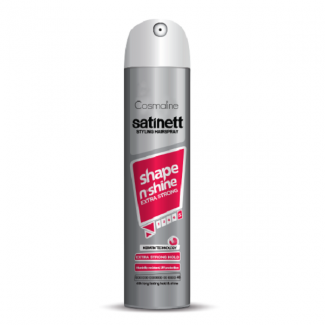 Satinett Shape N' Shine Extra Strong Styling Hairspray