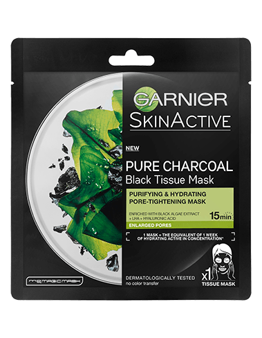Garnier Skin Active Charcoal Tissue Mask