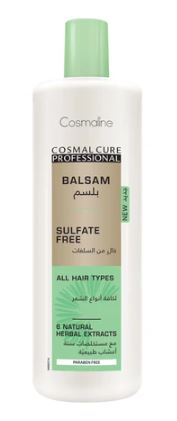 Cosmaline Cosmal Cure Professional Sulfate Free Conditioner 500ml