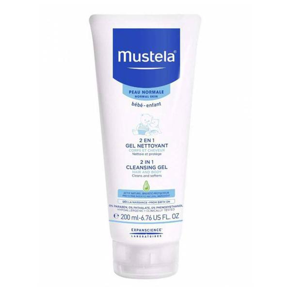 Mustela 2 in 1 Hair and Body Wash