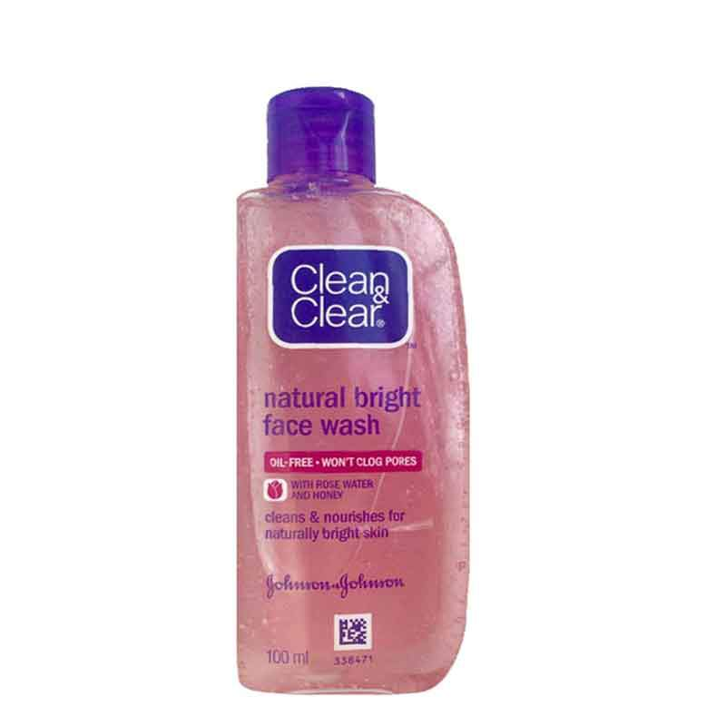 Clean 'n' Clear C&C Natural Bright Gentle Daily Wash 100mL 100ml