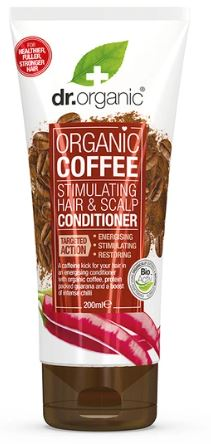 Dr. Organic Coffee Stimulating Hair And Scalp Conditioner 200ml