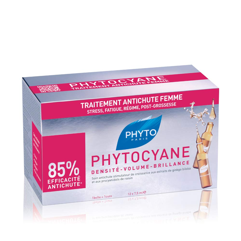 Phyto Cyane Densifying Serum Treatment - 12 Ampoules