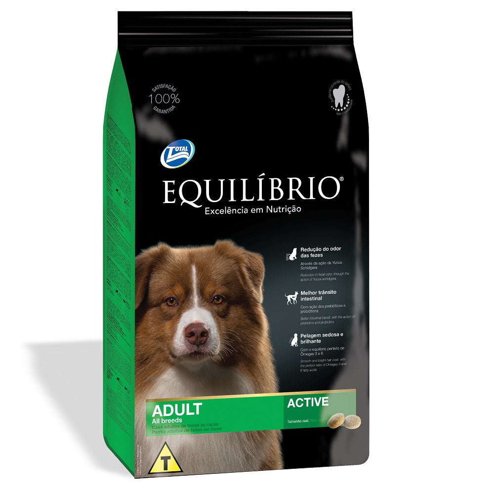 Equilibrio Adult Medium Dog  Dry Food 12Kg+2Kg FREE