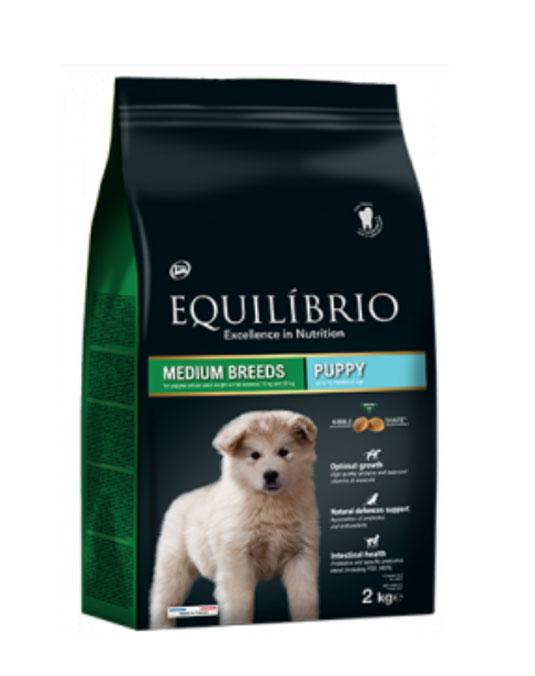 Equilibrio Puppy Medium Breed 2Kg