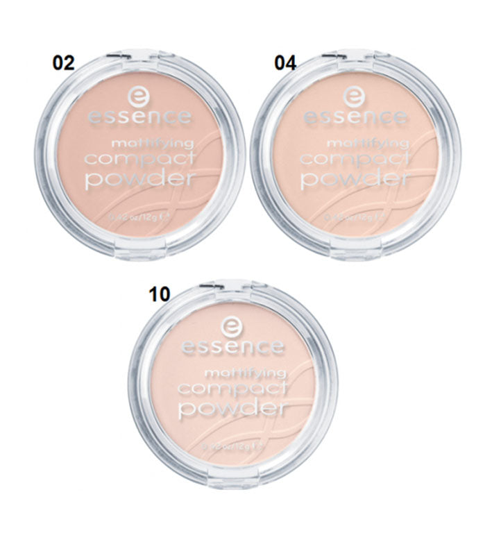 Essence Mattifying Compact Powder shades | MyKady