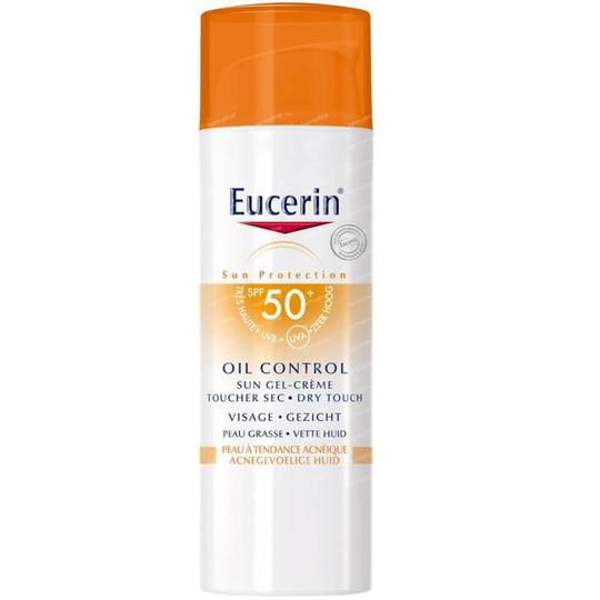 Eucerin Sun Gel Cream Oil Control Dry touch SPF50 50ml