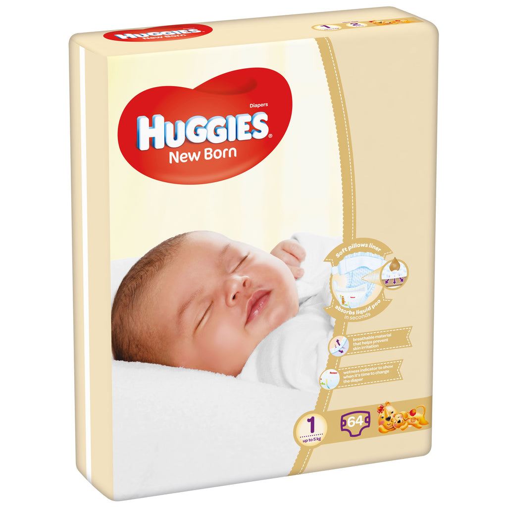 Huggies Ultra Comfort Jumbo New Born