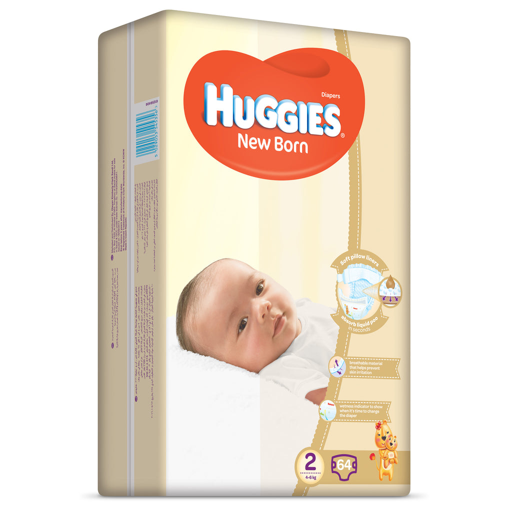 Huggies Ultra Comfort Jumbo New Born Size 2