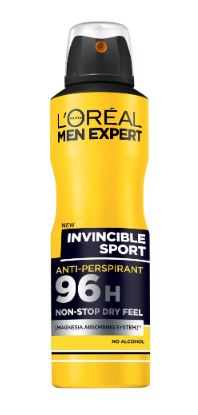 L'Oreal Men Expert Invincible 96H Non-Stop - Spray