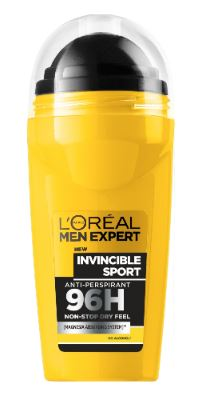 L'Oreal Men Expert Invincible Sport 96H Non-Stop - Roll-On