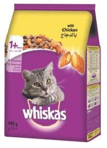Whiskas Cat Dry Food 480g