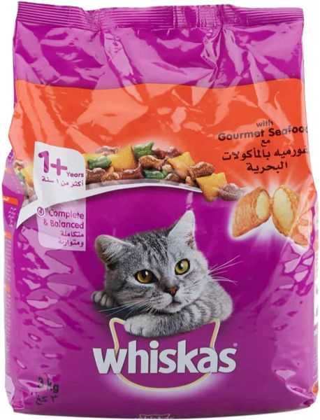 Whiskas Cat Dry Food 3kg
