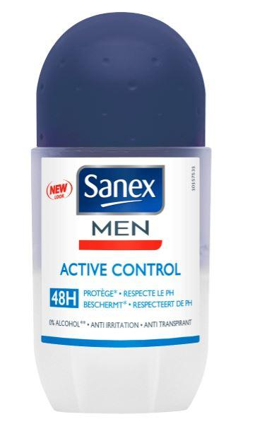 Sanex For Men Roll On Active Control 50ml