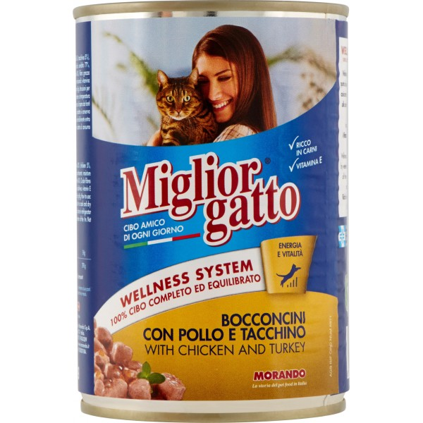 MigliorGatto Wet Food-Cans 405g-MyKady