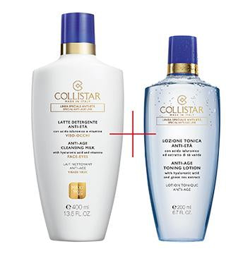 Collistar Anti Age Cleansing Milk + Toning Lotion