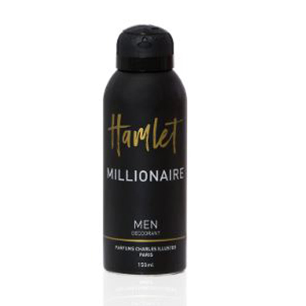 Hamlet Millionaire Perfumed Deodorant For Men 150ml