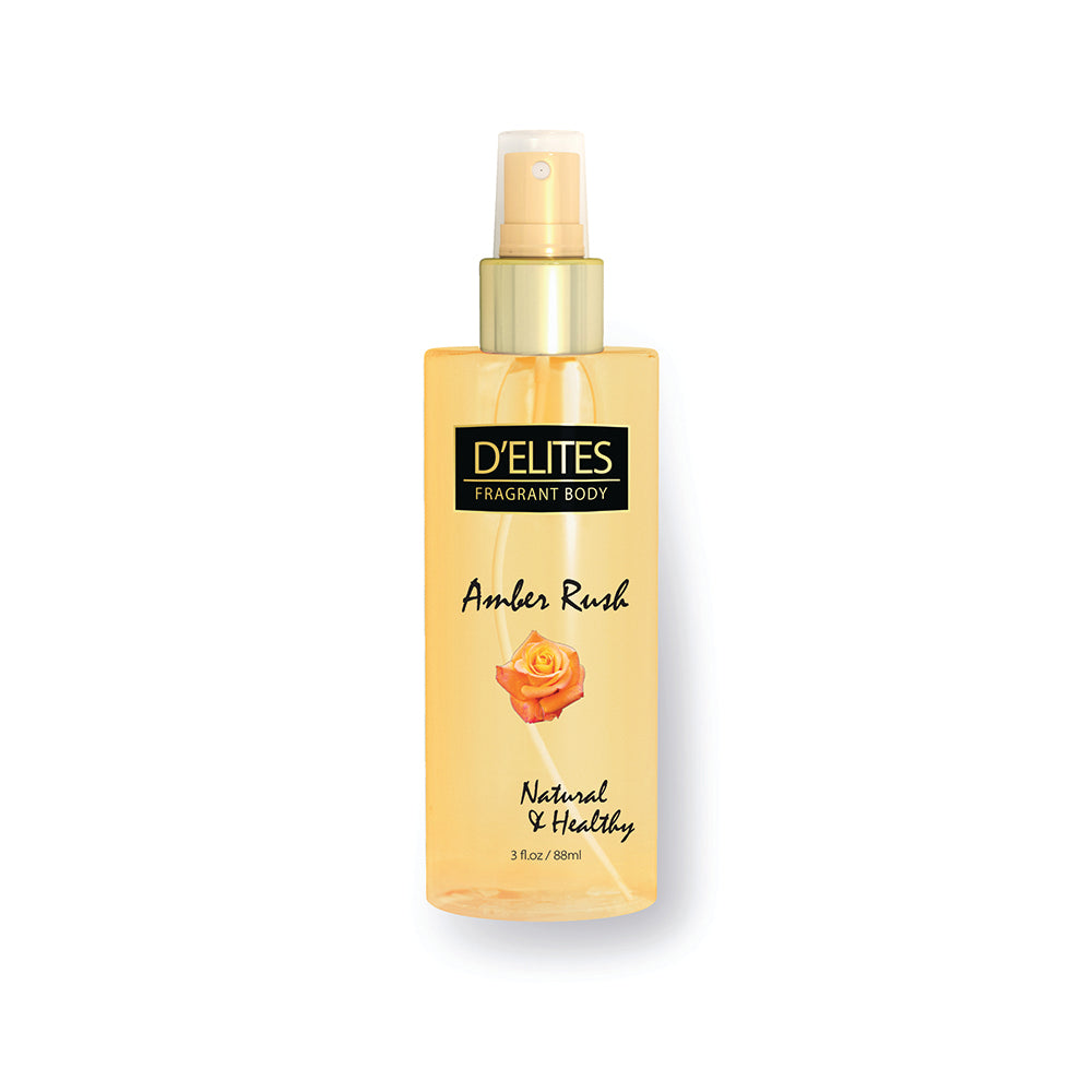 D'Elites Fragrant Body Splash Amber Rush 236ml