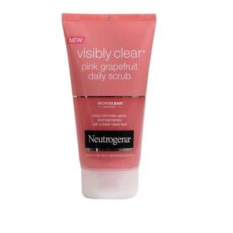 Neutrogena Oil Free Acne Grapefruit scrub 125ml
