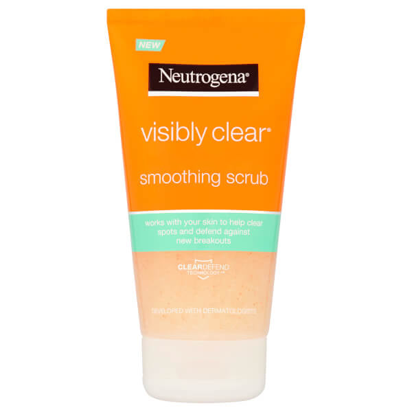 Neutrogena Visibly Clear Smoothing Scub 150 ml