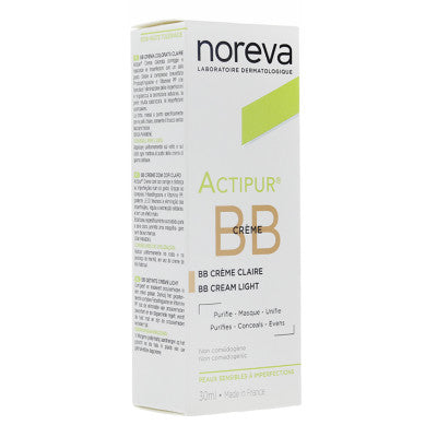 Noreva Actipur Creme Anti-Imperfections BB Clair