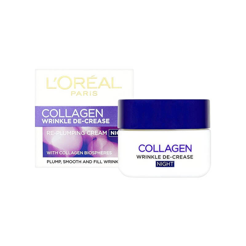 L'Oreal Paris Re Plumper Collagen Night 50ml