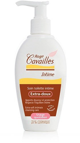 Roge Cavailles Extra Gentle Intimate Wash Daily use 200ml