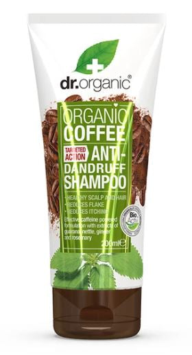 Dr. Organic Coffee Mint Anti-Dandruff Shampoo 200ml