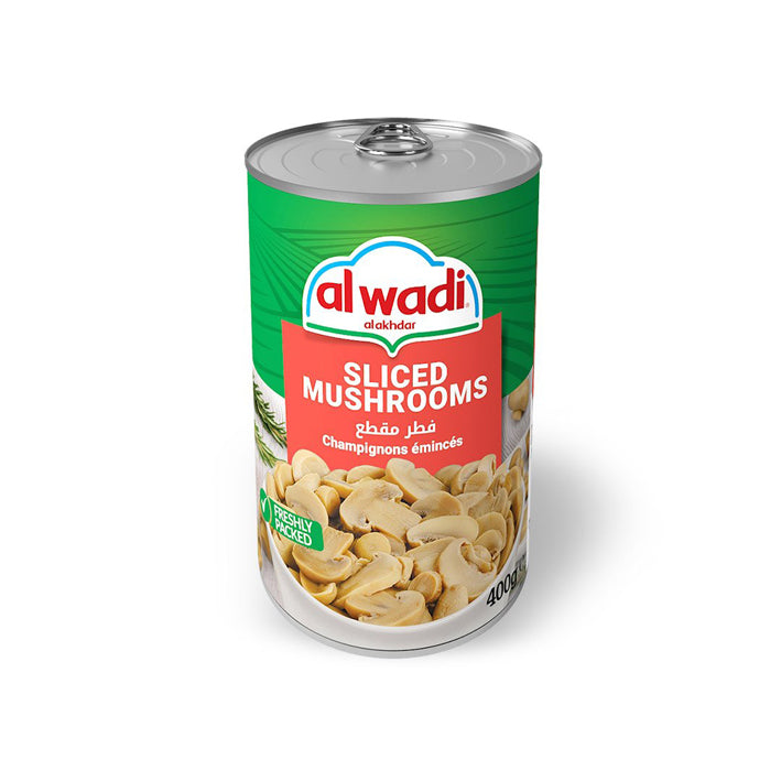 Al Wadi Al Akhdar Sliced Mushrooms 400G