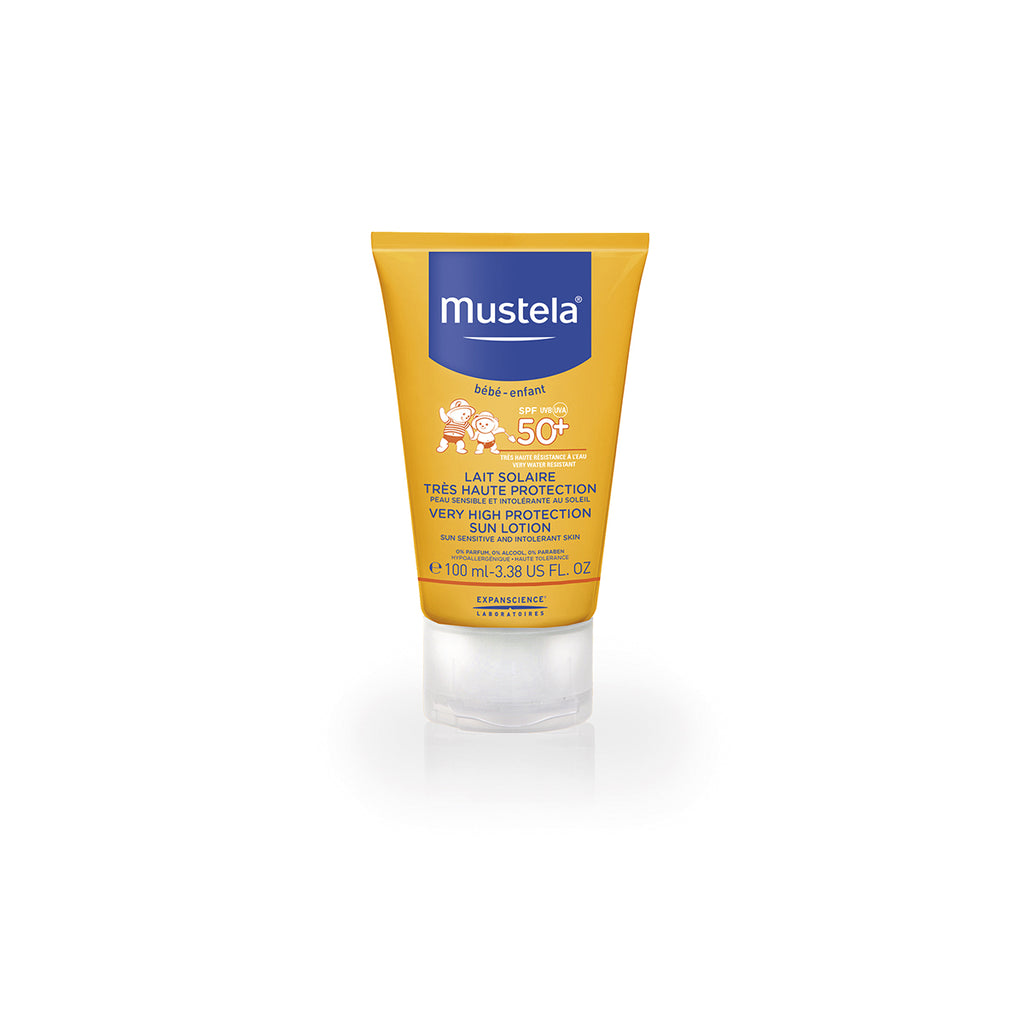 MUSTELA VERY HIGH PROTECTION SUN LOTION FOR THE FACE 40ML