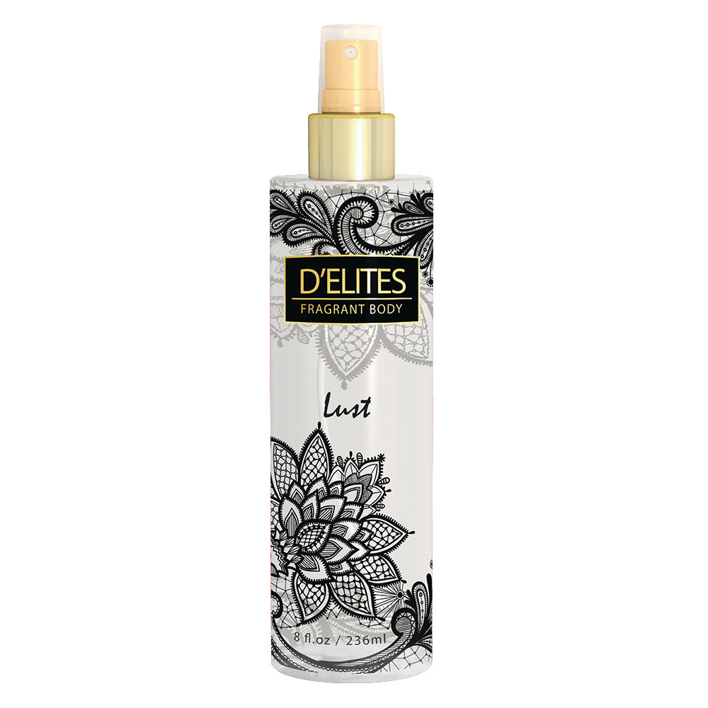 D'Elites Fragrant Body Splash Lust 236ml