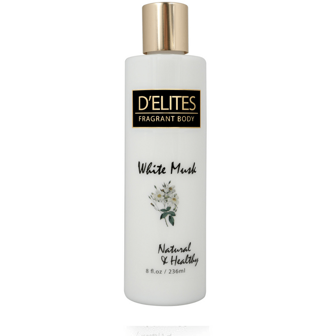 D'Elites Fragrant Body Lotion White Musk 236ml