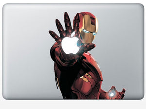 Iron Man MacBook Decal Spocket App