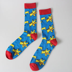 Famous Japaness cartoon socks