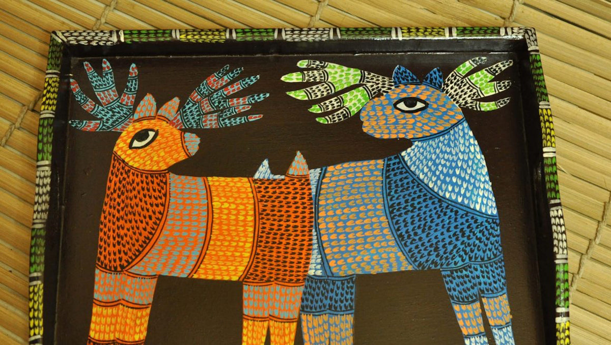 Gond Paintings: A Mystic World Created by Dots and Lines