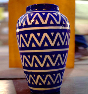 Blue Pottery Ware