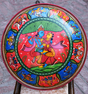 Pattachitra Wall Plates