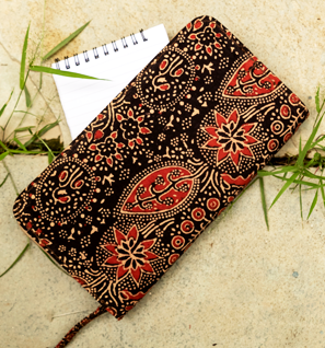 Ajrakh Fabric Wallets