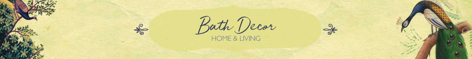 Authentic Handcrafted Bath Decor Products by The India Craft House