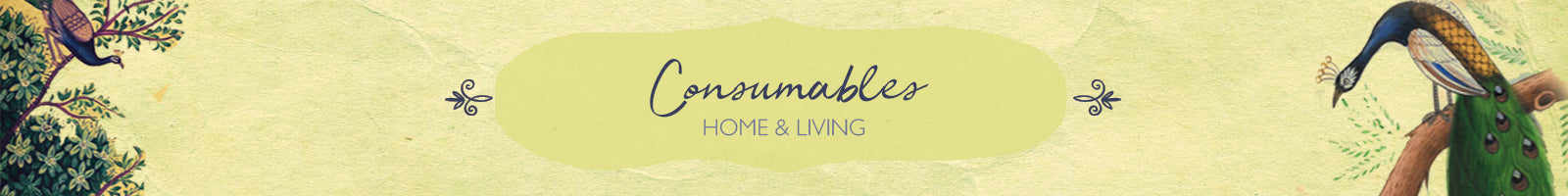 Authentic Handcrafted Consumables Items by The India Craft House