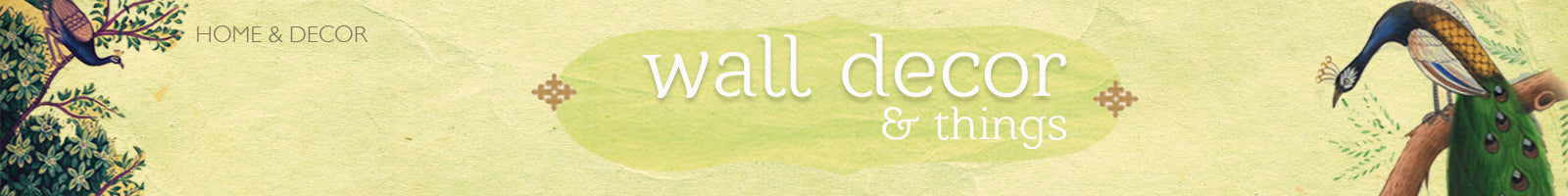 Wall Décor & Things - The India Craft House