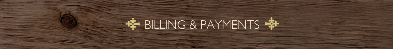 Billing and Payments - The India Craft House