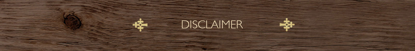 Disclaimer - The India Craft House