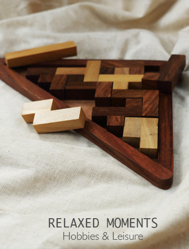 Relaxed Moments - Hobbies & Leisure Games available at The India Craft House