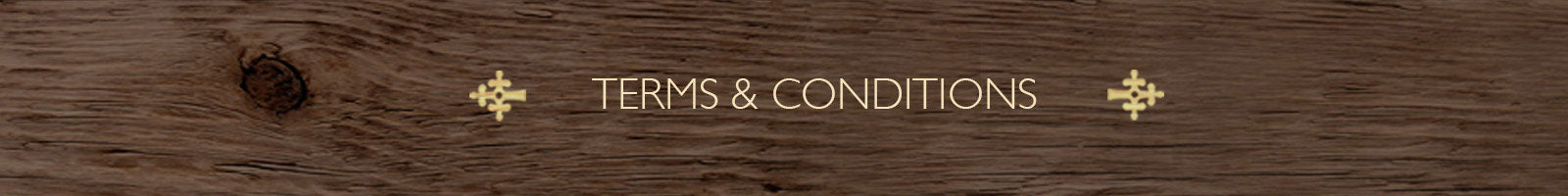 Terms & Conditions - The India Craft House