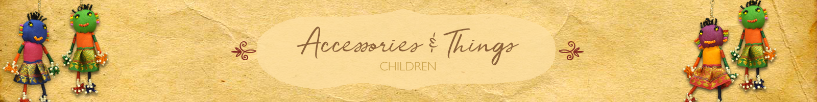 Authentic Handcrafted Accessories & Things for Children by The India Craft House