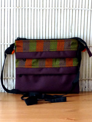 3 - Zip Crossfront Bag - Khand - The India Craft House 1
