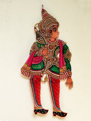 Andhra Leather Craft Puppet - Laxman