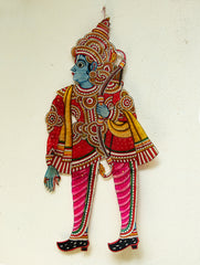 Andhra Leather Craft Puppet - Ram