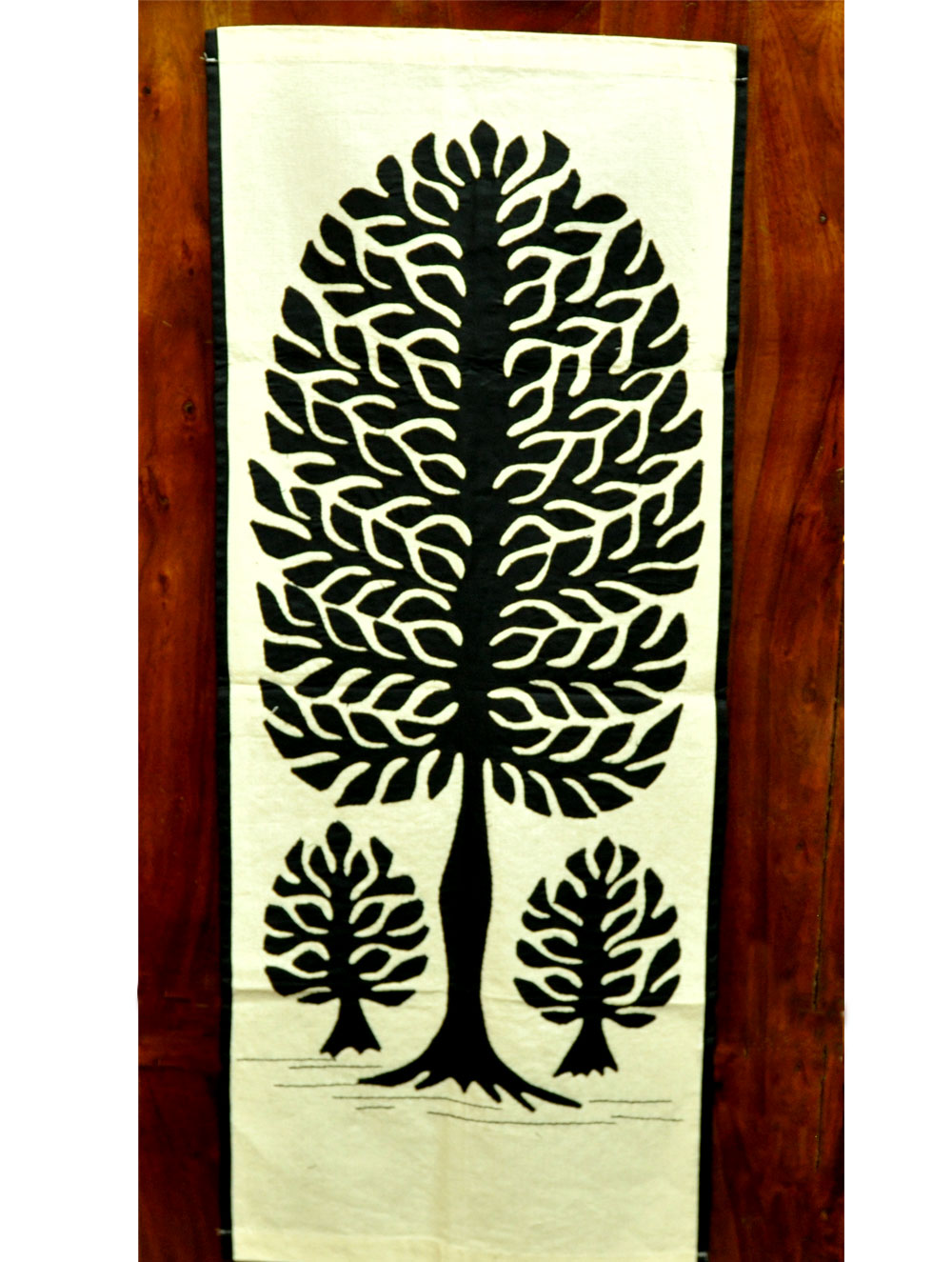 Applique Work Wall Hanging Canvas